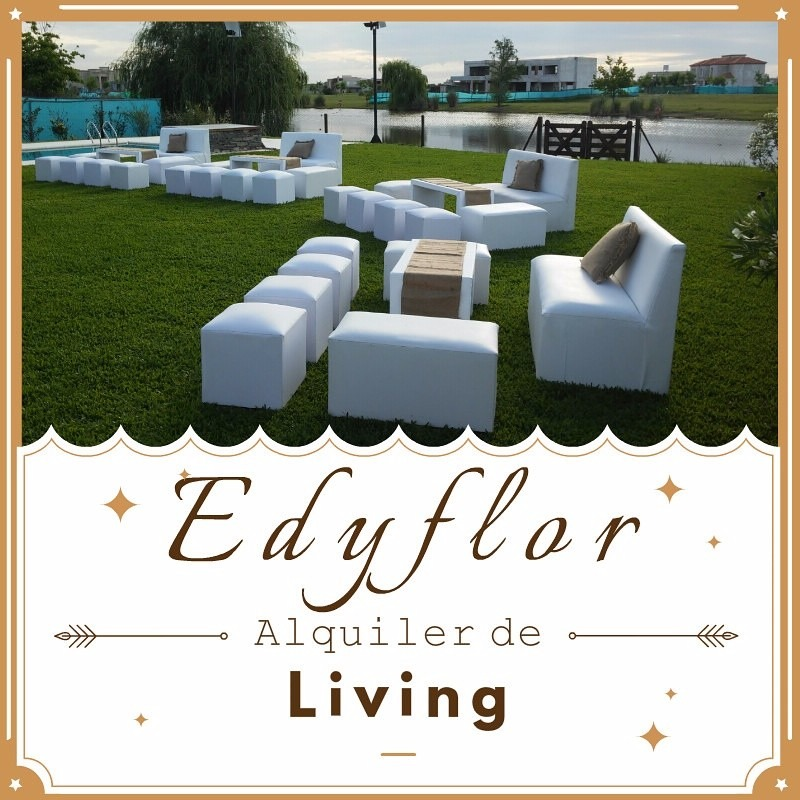 Edyflor alquiler de living mesas altas y gazebos la for Mesas de living