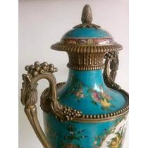 Antiguo Potiche Frances Versalles Sellado Año 1895