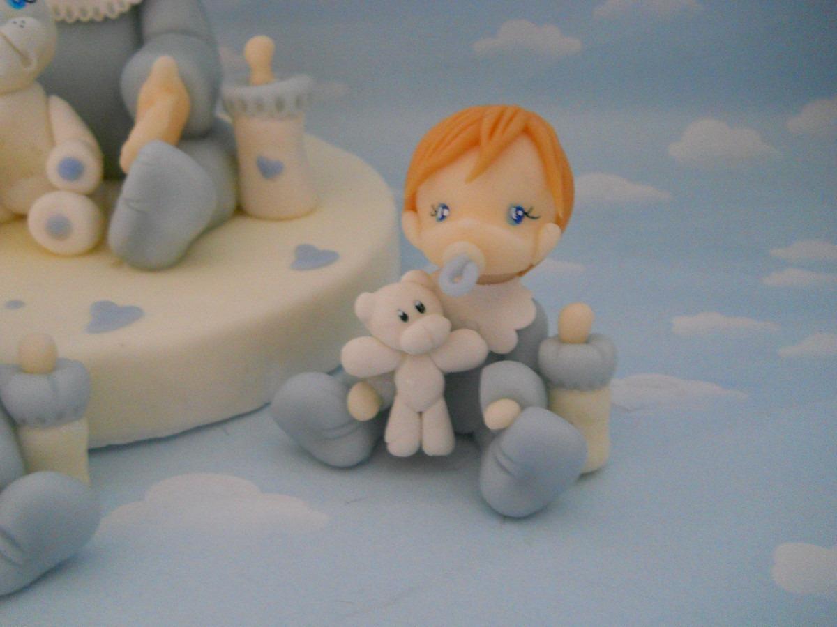 10 Souvenirs Bebes En Porcelana Fria. Nacimiento. Bautismo - $ 170 ...