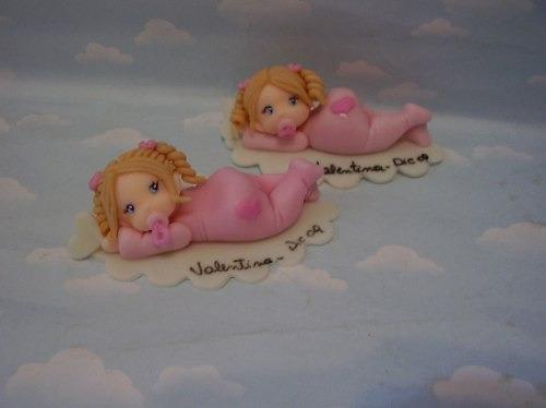 Souvenirs bebés en porcelana fria paso a paso - Imagui