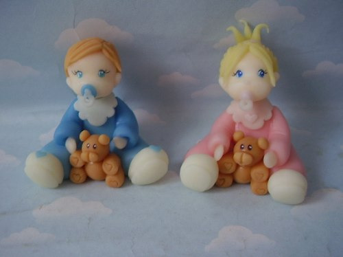 Souvenirs de porcelana fria para bebés - Imagui