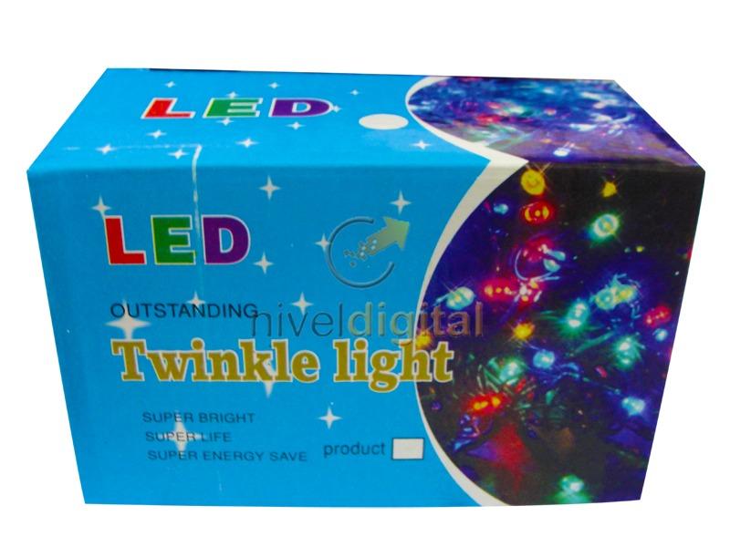 Compra luces led navide as decorativas de 10 metros - Luces led para arbol de navidad ...