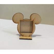 Portaretratos Souvenir Nacimiento Mickey Minnie Bymax Tren.