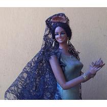 Muñeca Figura,bailarina Española.