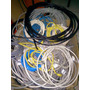 Cable Utp Por Tramos Remantes Funcionando Interior Y Exterio