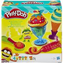 Play Doh Masa Preparando Helados Congreso Olivos