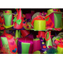 Cotillon Combo Fluo Y Luminoso 300 Art.!! Gorros Y Luminosos