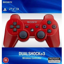 Sony Dualshock 3 Joystick Color Rojo Ps3 Original Blister!!!