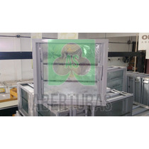 Aberturas: Ventiluz De Aluminio Blanco De 40 X 36 Completo