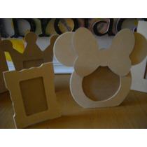 Portarretratos Fibrofacil Mickey Minie 7x7 Y 11x11