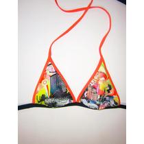 Malla Bikini Triangulo Solo Corpiño Coleccion Verano 2014