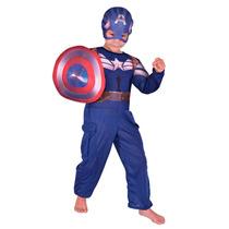 Disfraz Capitan America New Toys Talle 2