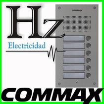 Frente Portero Electrico Commax Edificio 6 Timbres Dr 6um Hz