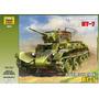 Tanque Zvezda P/armar Bt 7 Soviet Light Tank 1/35 Kit 3545