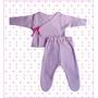 Ropita Para Bebes Set De Prematuros Liso Pack Por 3 Cjtos