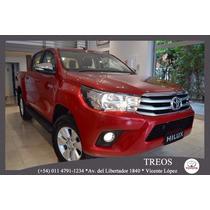 Toyota Hilux 4x4 D/c Srx 2.8 Tdi 6 M/t 0km 2016