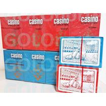 12 Mazos Naipes Plastificados Poker Casino Cuotas S/interes