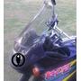 Parabrisa Elevado Kle 500 Motos Kawasaki Cupulas Burbujas