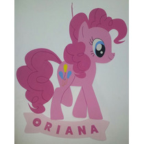Cartel Cumpleaños - Poni | Pony - Goma Eva 50 X 48 Cm Aprox.