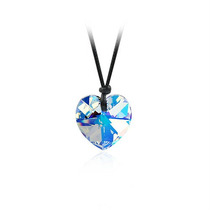Colgante Corazon Crystal 18mm Swarovski Elements