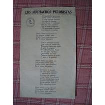 Los Muchachos Peronistas C/ Sello Parti Peronista Femenino