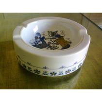 Cenicero Importado De Porcelana - Años 70