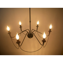 Araña Colgante Living Led Iluminacion. Estudio-light