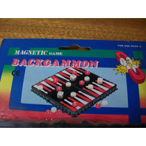 Backgammon Magnético Para Viaje