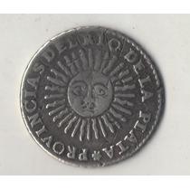 Numismatica1813. La Rioja 2 Soles De 1826 De Plata Rest Sold