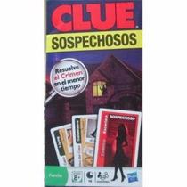Clue Sospechosos Cartas Resuelve El Crimen Hasbro