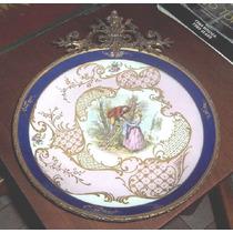 Plato Antiguo,porcelana Petit Paris.