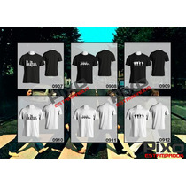 Remeras Estampadas The Beatles / Abbey Road / Help