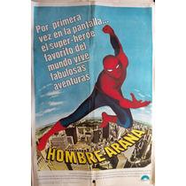 Poster Spiderman -hombre Araña-afiche Pelicula Año 1977