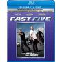 Rapido Y Furioso 5 Blu Ray + Dvd Version Extendida Nueva