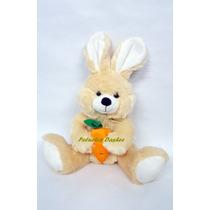 Conejo De Peluche Con Zanahoria