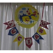 Figuras En Goma Eva De Piñon Fijo !!!