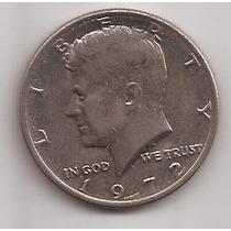 Estados Unidos Moneda 1/2 Dolar Año 1972 !!