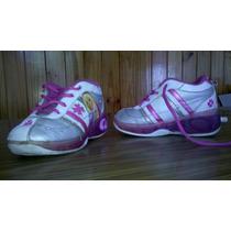 Zapatillas De Niña Con Rueditas, Barbie