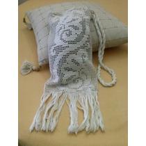 Cartera Tejida Al Crochet.