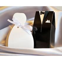 Souvenir Casamiento, Cajas Vestido De Novia Y Traje De Novio