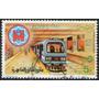 Egipto Sello Usado Subte Gran Cairo = Tren Año 1987