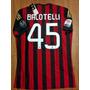 Camiseta Milan Balotelli 45+parches Copa Y Liga (antes $420)