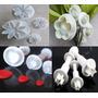 Cortante Flores Reposteria Porcelana Fria Con Expulsor
