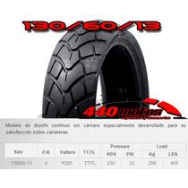 Cubierta Motos 130/60-13 4pr P285 Al Mejor $$$ Solo Motos440