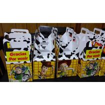 Cajitas Carameleras Toy Story, Cars, Zou, Sofía, Mickey