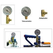 Vacuometro Y Adaptador Para Bomba De Vacio - Refrigeracion