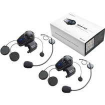 Intercomunicador Bluetooth Sena Smh10d-11 Para Moto Dual Kit