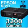 Proyector Epson S31+ 3200 Lumens Hdmi Usb S18 Wifi + Bolso
