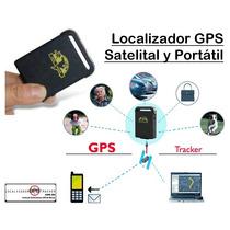 Gps Tracker Localizador Rastreador Sms Satelital Monitoreo