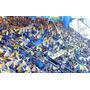 Paraguas Boca Jrs Central Atlanta Azul Y Amarillo Sombrilla